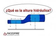 ¿Qué es la altura hidráulica?