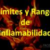 limites y rango de inflamabilidad